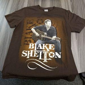 BLAKE SHELTON T-SHIRT 👕 Country Music Band Tee